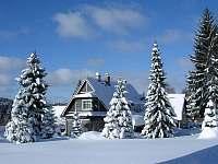 Pension Harrachov zima -