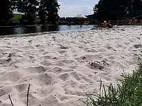 písečná pláž - Heřmánkovice - Janovičky