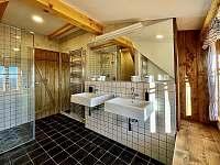 Koupelna - chalupa k pronájmu Víchovská Lhota 38