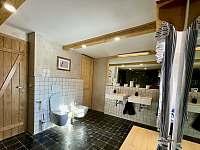 Koupelna - chalupa k pronajmutí Víchovská Lhota 38