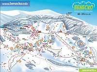 lyžařské možnosti na Benecku
