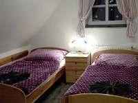 apartmán Anče- dvojlůžková ložnice
