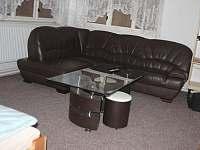 Apartmán 1 - Obývací místnost - chalupa ubytování Jablonec nad Jizerou