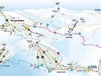 Mapa SkiResortu Pec - Černá hora - Čistá v Krkonoších