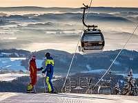 Zima v Krkonoších - Čistá v Krkonoších