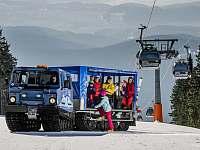 Zima v Krkonoších - Černý Důl - Čistá v Krkonoších