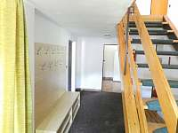 Vstupní chodba - chalupa ubytování Žacléř