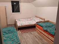 Apartmán Sojka - ložnice - ubytování Velká Úpa