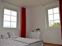 Ložnice menší pro 2 osoby - rekreační dům k pronájmu Úpice
