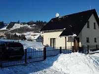 Chata Vidochov v zimě - k pronajmutí