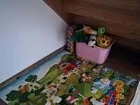Dětský koutek - chata k pronájmu Vidochov