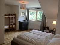 Ložnice 1 - pronájem apartmánu Černý Důl