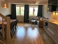 Obývací pokoj - apartmán k pronájmu Černý Důl