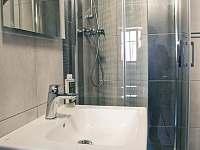 #1 Apartmán pro 4 - koupelna - chata k pronájmu Vítkovice v Krkonoších