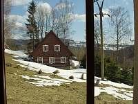 #2 Pokoj DOUBLE - výhled do zahrady - chata k pronajmutí Vítkovice v Krkonoších