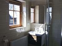 #3 Pokoj TRIPLE - koupelna - chata k pronájmu Vítkovice v Krkonoších