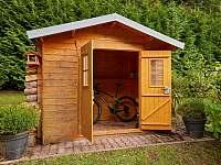 Zahradní domek pro kola, lyže, atd. - chata ubytování Trutnov - Poříčí