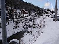 Dolní Dvůr pod sněhem - apartmán ubytování Dolní Dvůr