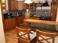 Kuchyně je kompletně vybavená, včetně výčepního zařízení