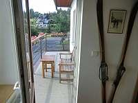 Apartmán 2 - balkón - pronájem Benecko