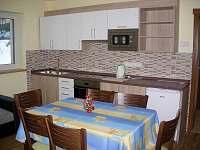 kuchyň renata - chalupa ubytování Benecko