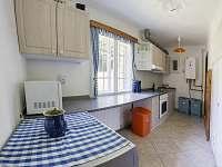 kuchyň - pronájem chaty Janské Lázně