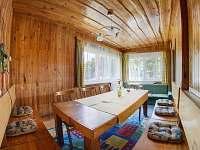 společenská místnost - chata ubytování Janské Lázně