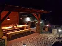 Pergola večer - Pec pod Sněžkou - Velká Úpa