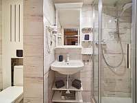 Pokoj Merkur koupelna - chata k pronajmutí Pec pod Sněžkou - Velká Úpa