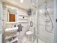 Pokoj Saturn koupelna - chata k pronajmutí Pec pod Sněžkou - Velká Úpa