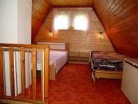 Ložnice - 3 lůžka - pronájem chaty Prkenný Důl