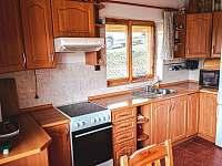 Kuchyň - chata ubytování Oblanov - Dolce
