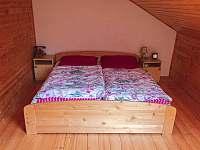Velká ložnice - pronájem chaty Oblanov - Dolce