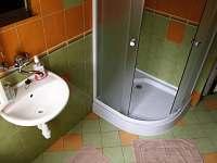 koupelna - chalupa k pronajmutí Janské Lázně