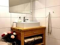 Koupelna Janskolázeňský pokoj - chalupa k pronájmu