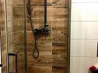 Koupelna Janskolázeňský pokoj - pronájem chalupy