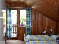 Dvoulůžková ložnice s balkónem