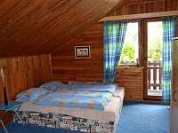 Velká ložnice s balkónem (2x dvoulůžko)
