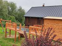 Dětské hřiště - chalupa ubytování Vysoké nad Jizerou - Sklenařice