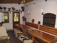 Společenská místnost - ubytování Janské Lázně