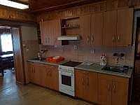 kuchyn - pronájem chalupy Velká Úpa - Pěnkavčí vrch