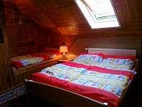 čtyř lůžková ložnice - chalupa ubytování Rokytnice nad Jizerou