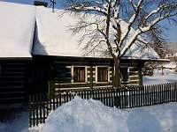 Chalupa v zimě - k pronajmutí Benecko - Dolní Štěpanice