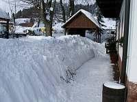 Zima 2013 - chalupa k pronajmutí Vidochov