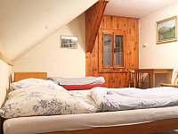 Čtyřlůžkový pokoj č.4 - pronájem chaty Malá Úpa