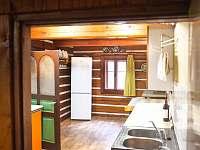 Společná kuchyň - chata ubytování Malá Úpa