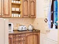 Kuchyňský kout - pronájem vily Harrachov
