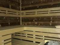 nová sauna - Harrachov