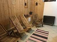 odpočívárna v sauně - Harrachov