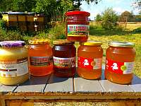 můžete si u nás nakoupit i med z Krkonoš - Horní Lánov